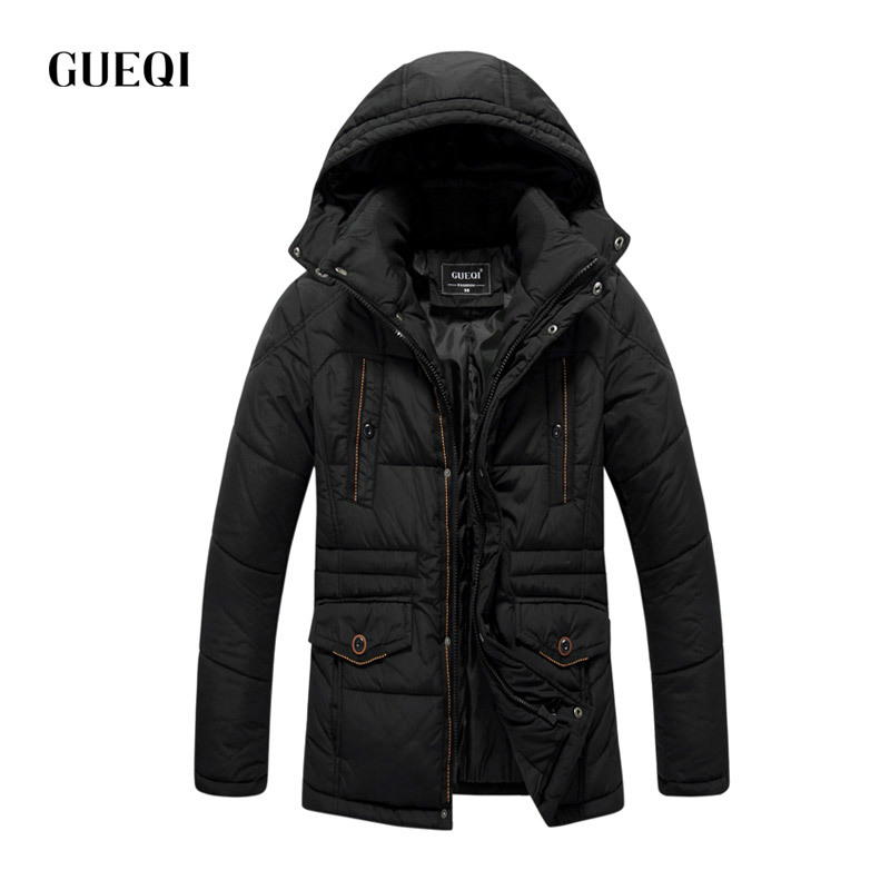 Подробнее о GUEQI 2017 Men New Winter Jacket Brand Clothing Warm Casual Solid Men's Popular Hooded Parkas For Male Jackets Outwear Coats 525 gueqi 2017 men winter jacket brand clothing warm fashion casual solid men s popular parkas for male jackets outwear coats 6867