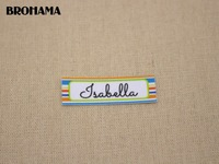 98 Custom Labels Custom Clothing Labels Name Tags Text Boxes White Organic Cotton Iron TB041