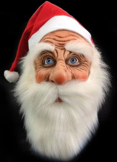 online kaufen gro handel weihnachtsmann maske aus china. Black Bedroom Furniture Sets. Home Design Ideas