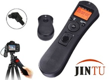 Jintu 2.4G Wireless Remote Control Timer Remote Control Shutter Release for Canon EOS 1DS Mark II/1Ds III 5DII 5DIII 6D 7D 7DII