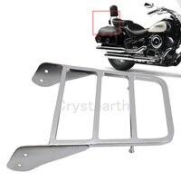 Chrome Motorcycle Sissy Bar Luggage Rack Holder For Yamaha Yamaha V Star 400 650 1100 Classic /Dragstar XVS 1100 2000 2011 2010