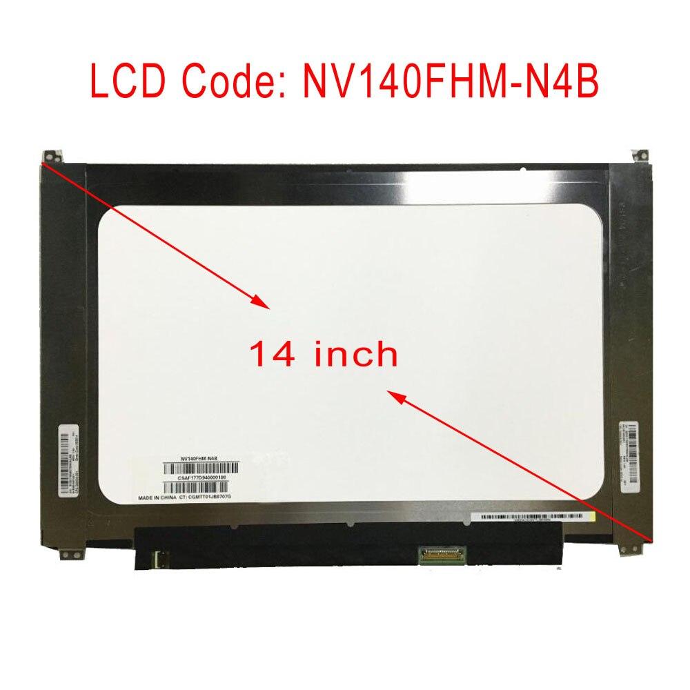 STARDE remplacement nouveau NV140FHM-N4B écran LCD 1920*1080 affichage remplacement ordinateur portable écran universel 14 pouces