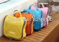 Oxford mulheres sacos de viagem impermeável dobrável de viagem de 23 * 23 * 10 CM quatro cores