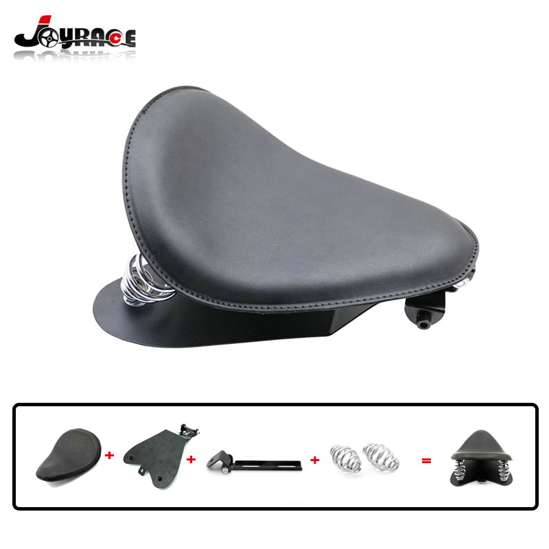 Motorcycle Solo Seat Cover Spring Bracket Seat Base For Harley Davidson 48 Sportster 883 1200 XL Bobber Chopper for Honda Yamaha motorcycle accessories engine decorative cover motorbike engine cover for harley davidson 2006 sportster 1200 roadster xl1200r