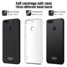 Huawei Honor V9 Case IMAK Entouré Protection TPU Case pour honor 8 Pro 5.5 pouce Pleine Couverture Mat Case avec Protecteur D'écran