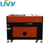 Лазерный принтер CO2 лазерной гравировки и резки с программным обеспечением и Алюминиевый нож Рабочий стол