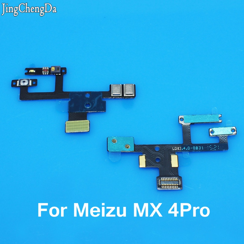 JCD  Power On Off Button Proximity Sensor Light Flex Cable Ribbon Replacement Repair Parts For Meizu MX4 Pro