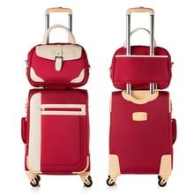 Оптовая продажа! 14 20 22 24 26 дюймов женский путешествия багажные сумки наборы на универсальные диски, модные сумки, высокое качество