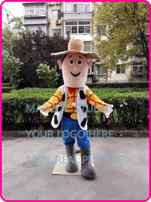 cowboy mascot cow boy costume custom fancy costume anime cosplay kit mascotte theme fancy dress carnival costume 401481