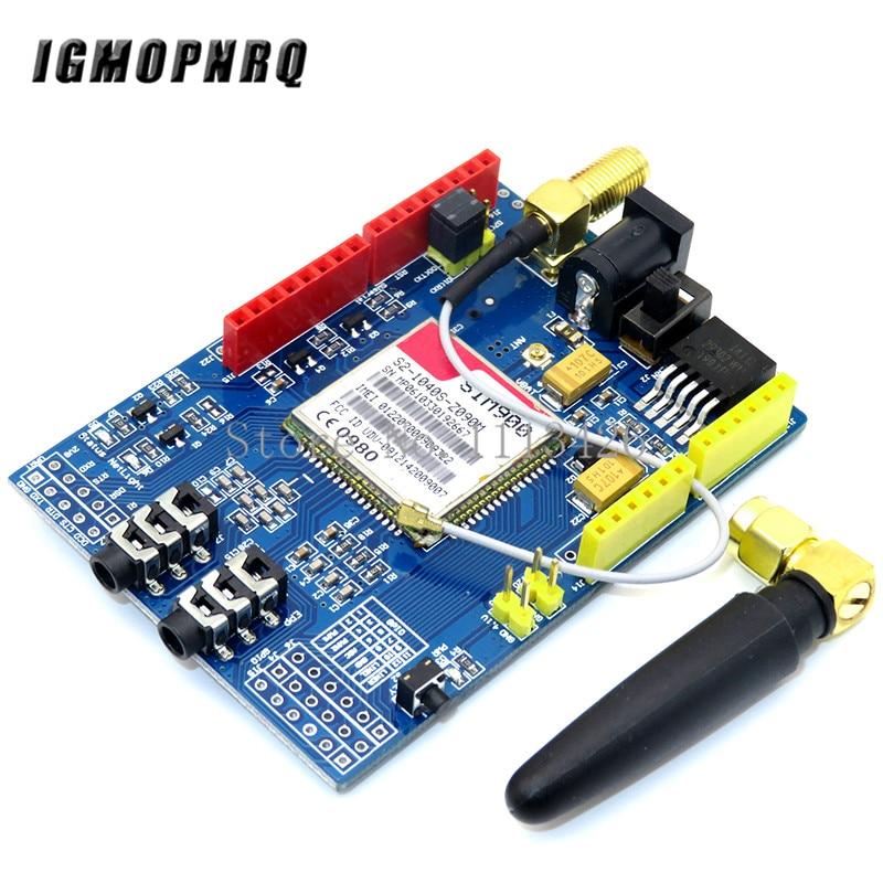 GSM M/ódulo de Placa de desarrollo para Arduino SIM900 GPRS 850//900//1800//1900 MHz