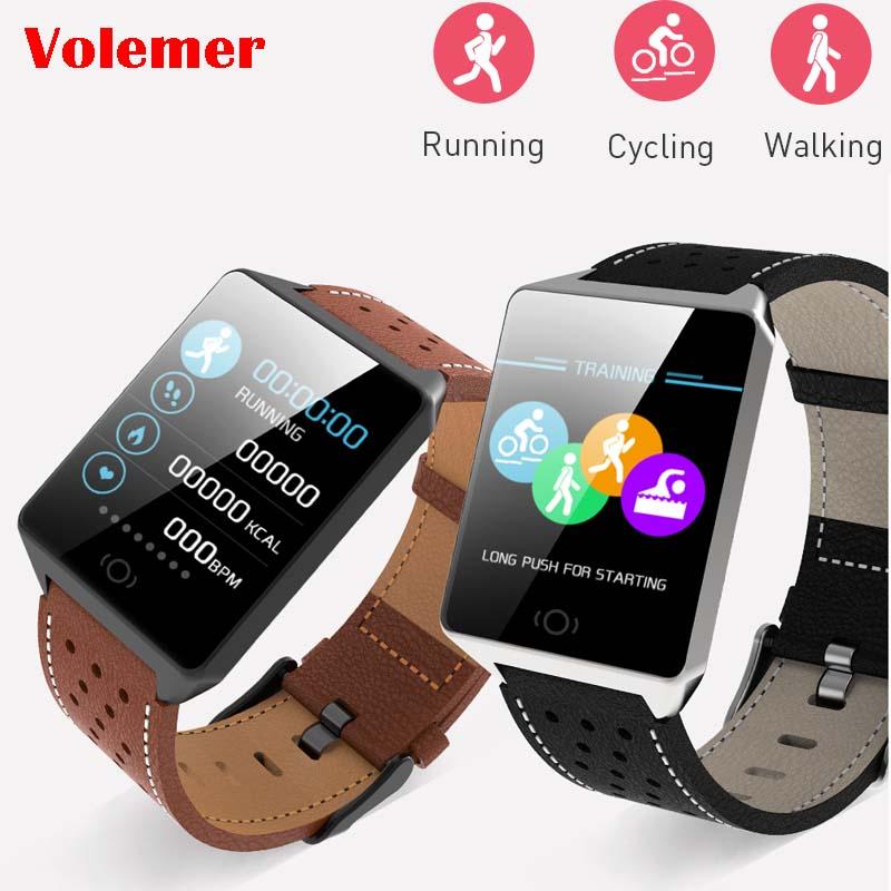 Tragbare Geräte Unterhaltungselektronik Ck19 Smart Uhr Ip67 Wasserdichte Tragbare Gerät Bluetooth Schrittzähler Herz Rate Monitor Farbe Display Smartwatch Für Android/ios Perfekte Verarbeitung