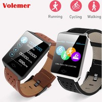 CK19 Smart Watch IP67 Waterproof Wearable Device Bluetooth Pedometer Heart Rate Monitor Color Display Smartwatch For Android/IOS