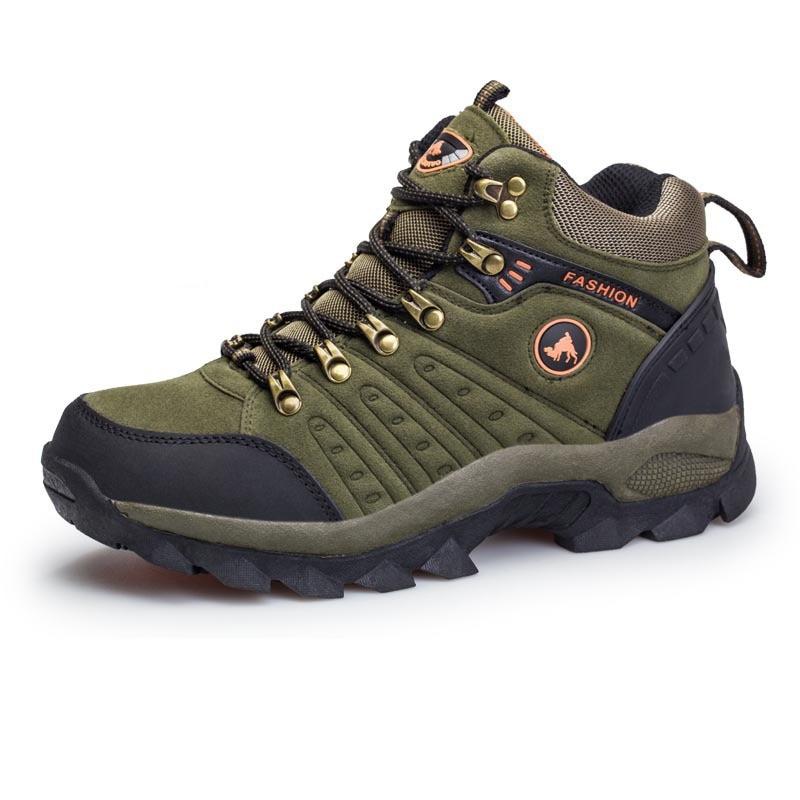 Size 39 44 Autumn Winter Male Man Hiking Shoes Outdoor Shoes Men Women Waterproof Breathable Mountain