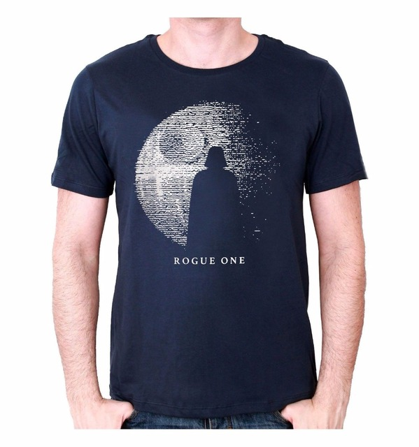 80456a404c US $12.87 8% OFF|Cool T Shirt Companies Cool Office Rogue One Shadow Crew  Neck Men Short Sleeve Compression T Shirts-in T-Shirts from Men's Clothing  ...