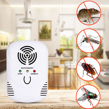 Electronic Ultrasonic Mosquito Repeller Mouse Mosquito Repellent Killer Mouse Cockroach Trap Insect Rats Spiders Pest Control(China)