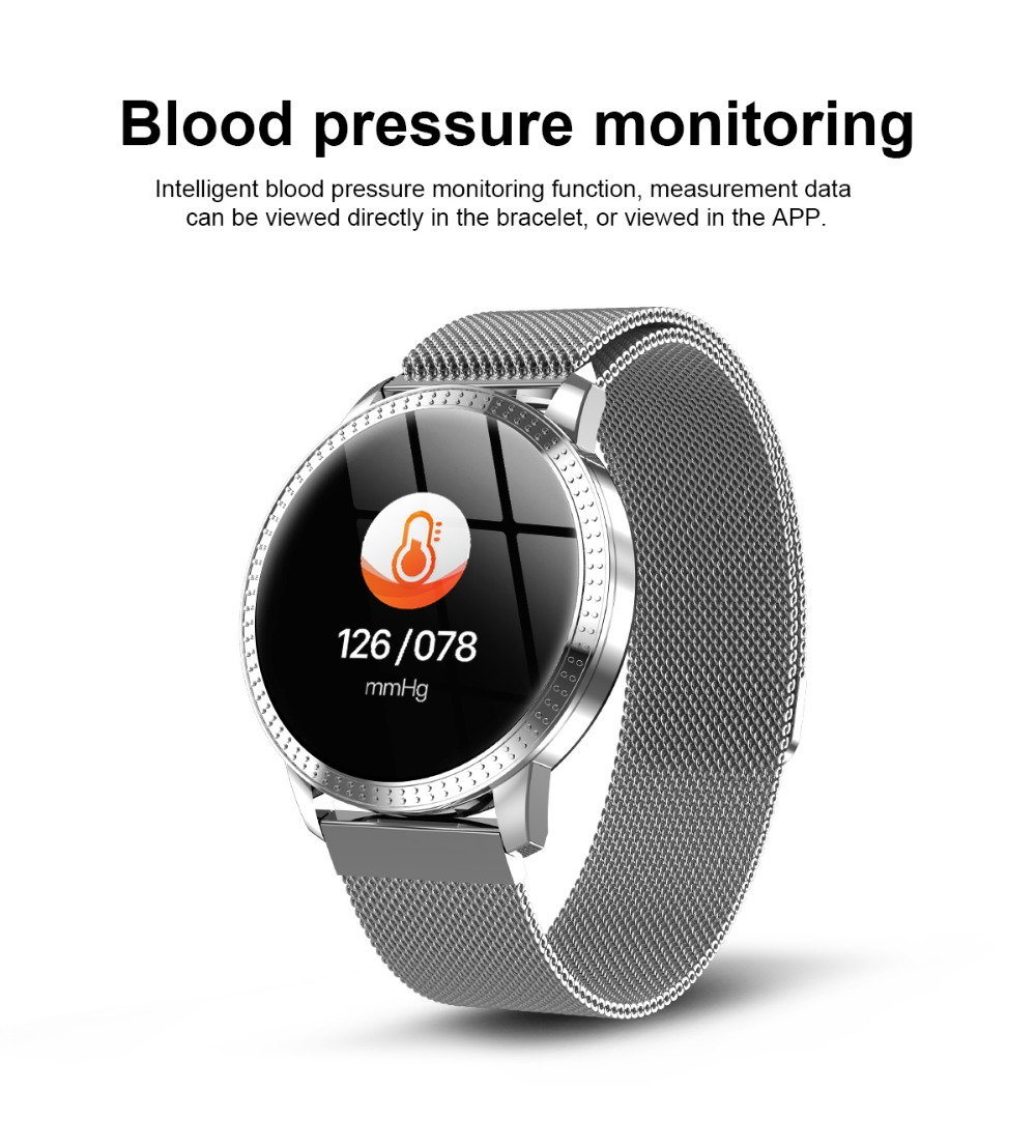 WATERPROOF SMART WATCH w/ CALL TEXT EMAIL NOTIFICATIONS