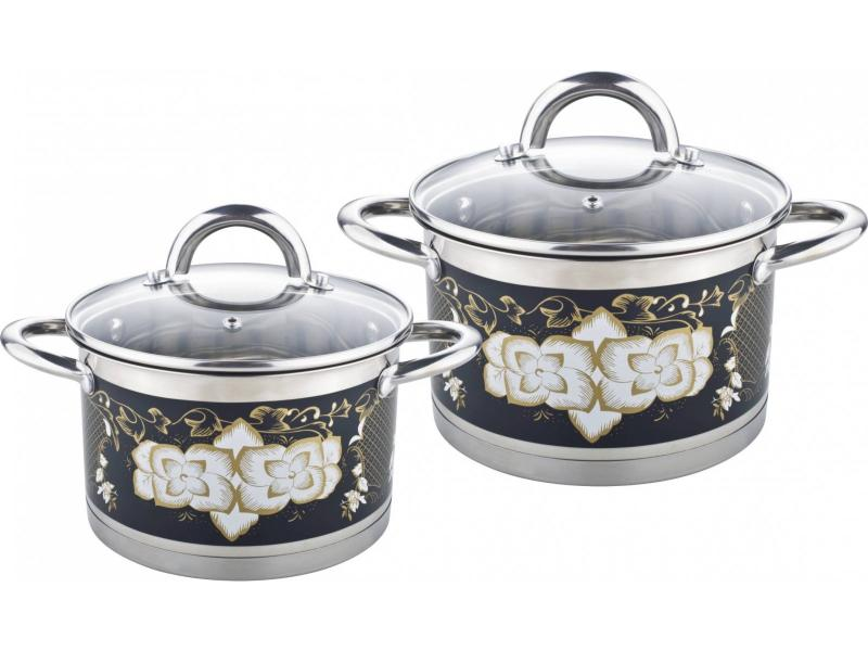 A Set Of pans POMI DORO, Fiore, 4 subject set pomi doro facilita 4 subject