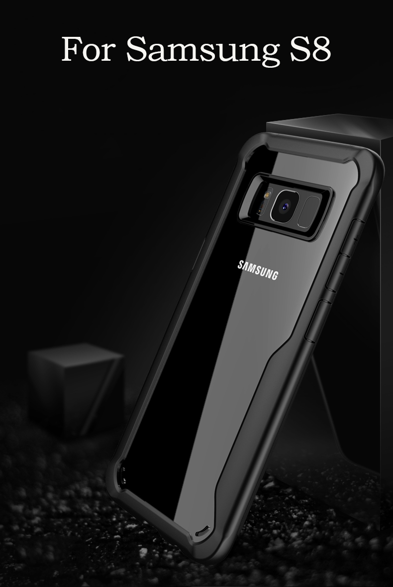 Anti Shock Cases For Samsung Galaxy S8 S9 Samsung A8 A8 Plus  Coque For Galaxy S8 Plus S9 Plus Case Fundas