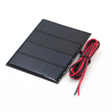 1pc x 12V 1.5W 100Ma Polycrystalline Silicon Solar Panel Module Mini 18V Solar Cells Battery Phone Charger With Welding Wire