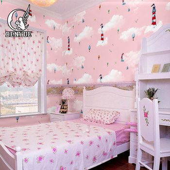Custom Size 3D Wallpaper Mural For Kids room cartoon children room 3d wallpaper murals for Living Room Bedroom Wall Art