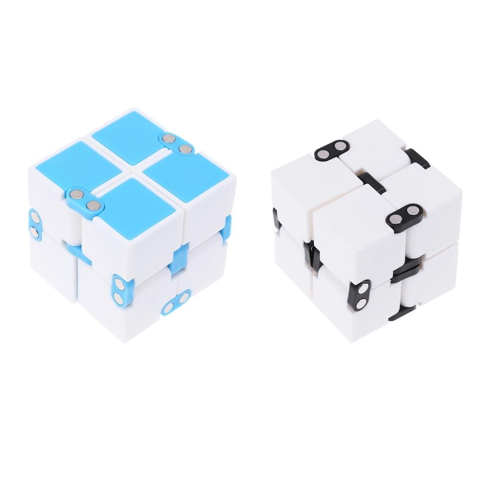 Magic Fidget Cube Toys for Anti Stress Mini Kids Child Magic Finger Hand Spinners Door Game