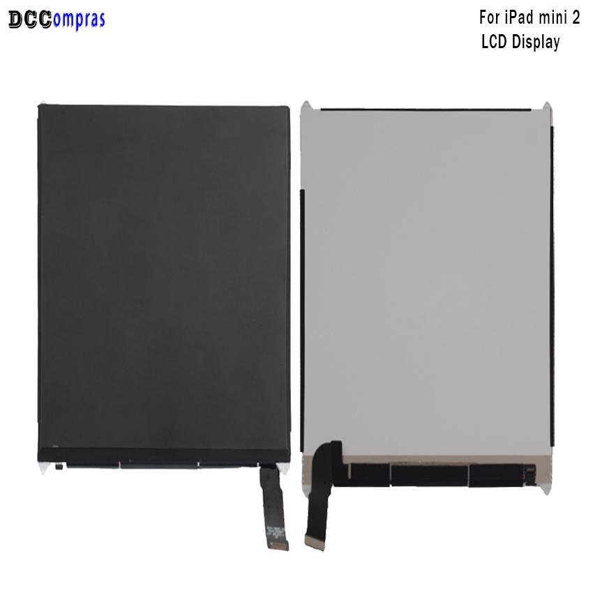 цена For iPad mini 2 Lcd Display Touch Screen Digitizer Panel Assembly Replacement For iPad mini 2 Display Tablet LCDs Free Tools