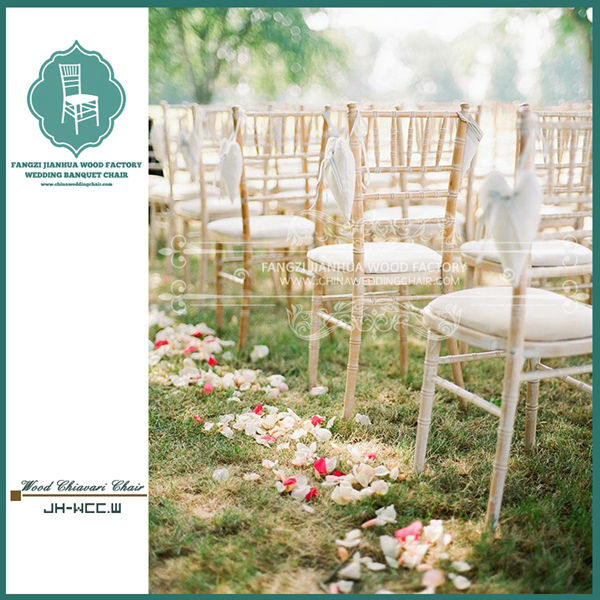 Attractive Wooden Lime Wash Chiavari Chair For Wedding