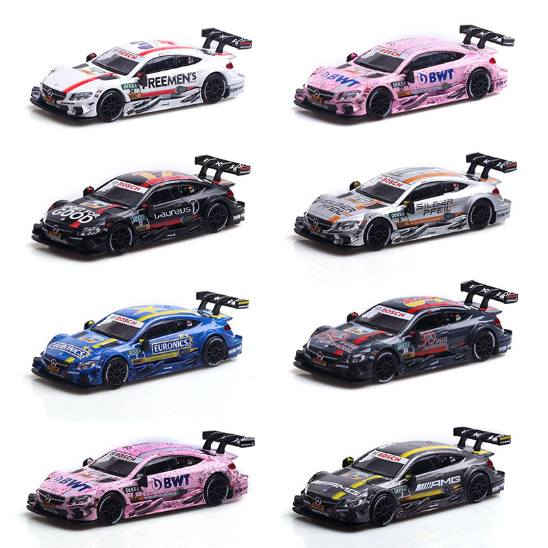 1:43NEW2019 Mercedes-Benz DTM Racing Lahua Model Alloy Car Toy Decoration Toy 1:43 Car Model