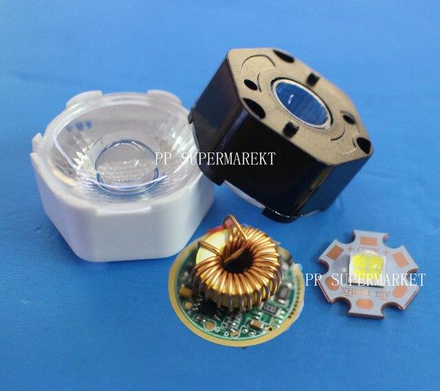 CREE XHP70 12 V LED 6500 K Koel Wit 5000 K Neutraal Wit 3000 K Warm Wit LED Emitter Didoes + 4A Led Voeding + 29 MM Led Lens