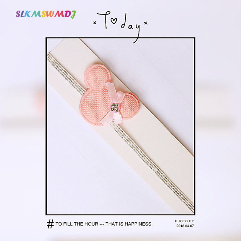 SLKMSWMDJ 2018 spring and summer Fashion new children's hair band baby girl headband cute DIY hair accessories 9 styles цена