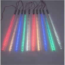 LED Christmas light , tree pendant led meteor tube ,10pcs 50cm tubes/set with driver ,85-265Vac input outdoor  holiday light