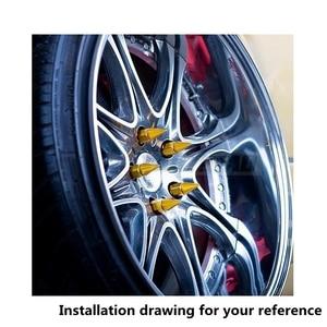 Image 5 - Blox 20Pcs 12X1.5 A Spillo di Alluminio 60 MILLIMETRI Estesa Tuner Ruote Cerchi Lug Nuts Racing Jdm AF 550NSPK 1215