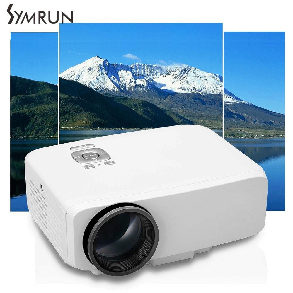 GP9S Home Theater Cinema TV portable LCD LED Mini Projector Proyector 1080P HD HDMI USB Video Digital Projetor