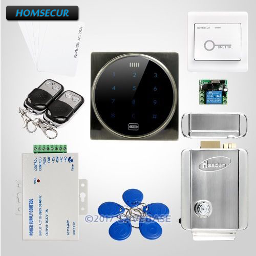HOMSECUR Waterproof Green Bronze Color ID Access Control Kit + WG26/34 Input and Output