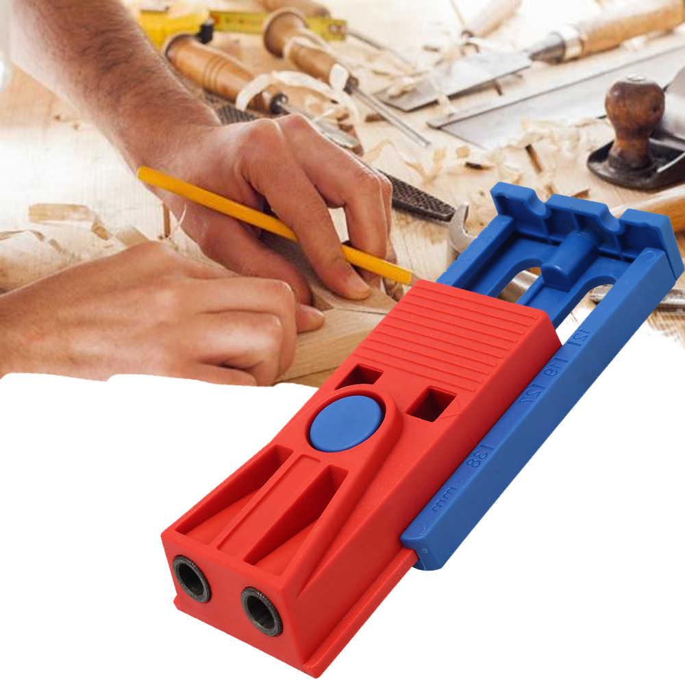ポケット穴ジグ木工傾斜ロケータ斜め穴ジグキットパンチャーホルダードリル位置決めツールステップドリルガイド