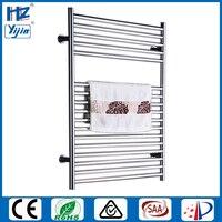 Free shipping chromed heated towel rail stainless steel 304 electric towel dryer towel warmer towel radiator HZ 933AS