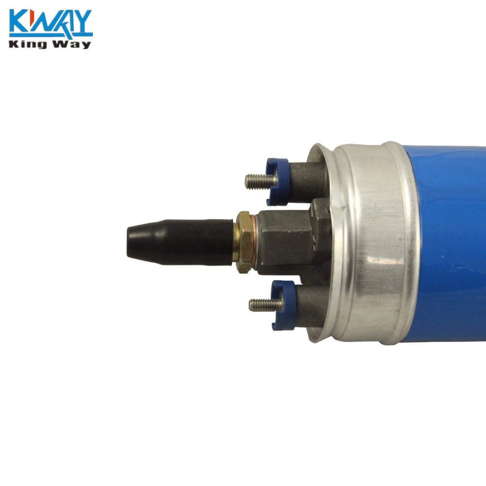 Free Shipping King Way New Inline Electric Fuel Pump 0580254910 With Install Kits For Mercedes Benz W123 W124 W126 In Supply Treatment From 230ce Filter