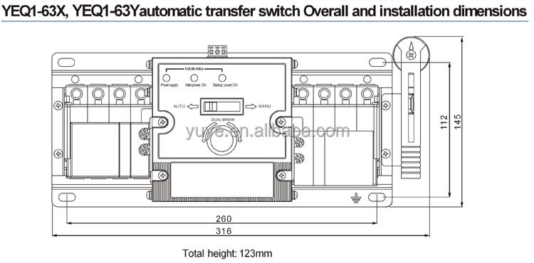 4 pole transfer switch wiring diagram manual wiring diagrams rh imovo co