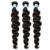 4 paquetes de brasileño pelo onda floja virgen 7a brasileño paquetes armadura del pelo rizado armadura del pelo humano honey queen productos para el cabello