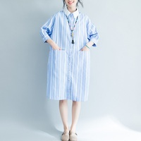 new summer women's clothing women's shirts stripe dress maternity blouses pregnancy dresses maternity summer clothing 1786