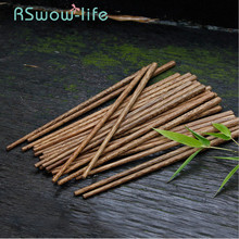 Best Selling 2019 Products Kitchen Tableware 10 Pairs Of Wooden Chopsticks Natural Wood Cute Chop Sticks