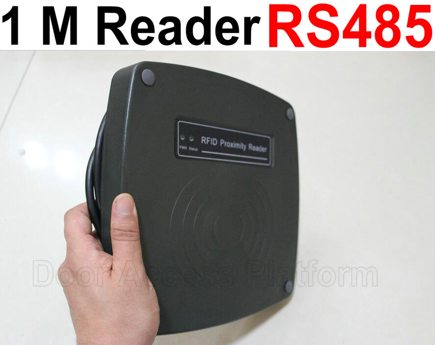 Dashing 1 Meter Card Read Rs485 New Rfid Card Reader For Access Controller System, Car Parking System, And One Stop Car Station Use,