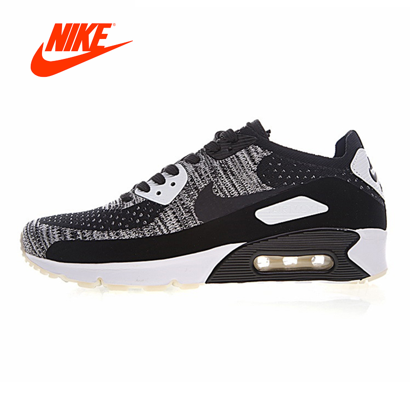 Original New Arrival Authentic Nike Air Max 90 Ultra 2.0 Flyknit Men's Running Shoes Nike Sneakers Sport Outdoor Good Quality original new arrival authentic nike air max 90 ultra 2 0 flyknit men s running shoes breathable lightweight non slip outdoor