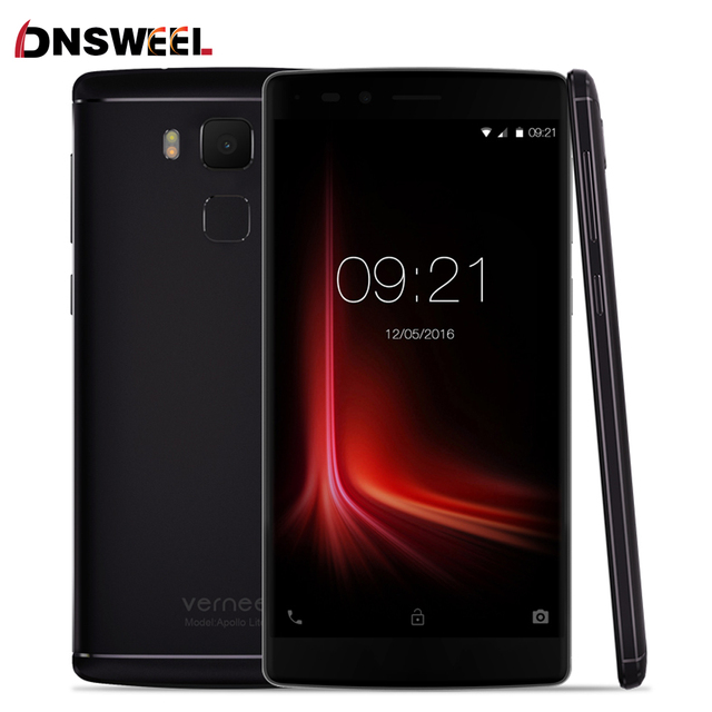 Vernee Apollo Lite Смартфон Android 6.0 MT6797 Дека-Core 5.5 Дюймов 16MP Камера 4 Г RAM 32 Г ROM Мобильный телефон Типа Отпечатков Пальцев-C
