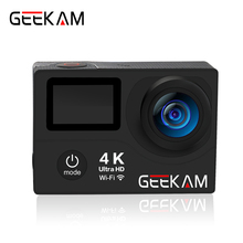 Original GEEKAM H3R/H3 action kamera 4 Karat wifi Ultra HD 1080 p/60fps 720 P/120FPS pro wasserdichter mini cam bike video sport kamera