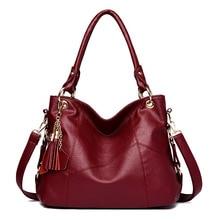 Women Handbags Luxury Designer 2019 Soft Leather Tote Bags for Women Shoulder Bag Crossbody Bags for Women Sac Main Femme
