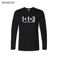 eddb0c8bbfa94 Problema de Matemática dos homens Camisas Engraçadas de T Homens 2018  T-shirt de Algodão