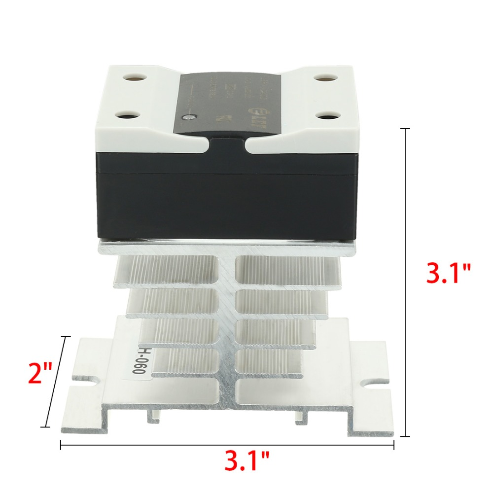 High Quality Hot Sale LSR1-1-310AA 10A AC to AC 90-250VAC to 24-440AC SSR Thermal Compound Solid State Relay + Heat Sink New wsfs hot sale dc to ac single phase solid state relay ssr 40da 40a 90 480v ac heat sink