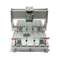 DIY Mini Cnc Wood Router Machine Frame 3040 Engrave Frame Suitable Cnc Milling Machine 3040Z DQ