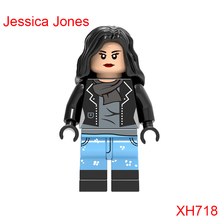 Jessica Jones Mini Bricks Single Sale Dc Super Heroes The Avengers Star Wars Building Blocks Christmas